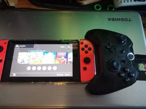 Nintendo switch with accessories and games for Sale in San Francisco, CA
