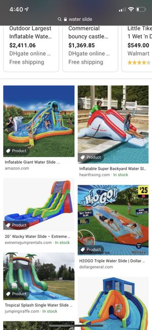 Not selling!!! IM LOOKING FOR A WATERSLIDE FOR TOMORROW TO RENT for Sale in Perris, CA