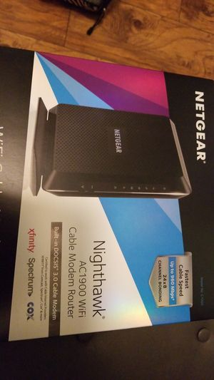 Netgear nighthawk ac1900 modem/router for Sale in Parma Heights, OH