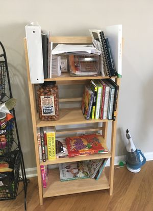 Folding book shelf for Sale in Alpharetta, GA