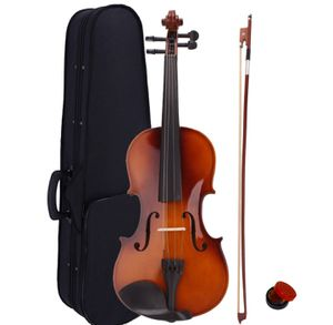 Brand New 4/4 Natural Acoustic Violin Set with Case+ Bow + Rosin for Sale in Columbia, MD