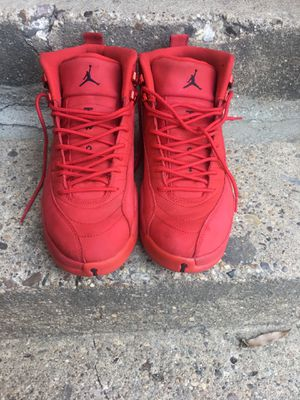 "Jordan retro 12s ""Gym red"" size 11.5 (Newly Released) for Sale in Adelphi, MD"