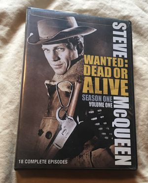 DVD wanted dead or alive Steve McQueen for Sale in Aurora, IL