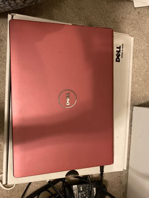 Pink dell studio laptop for Sale in Boyds, MD