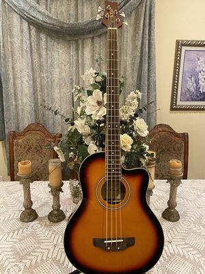 sunburst de rosa bajoloche acoustic bass for Sale in Bell, CA