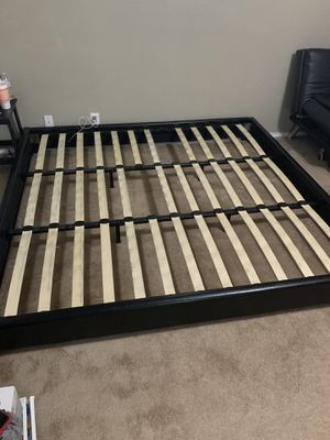 King Sized Bed Frame for Sale in McAllen, TX