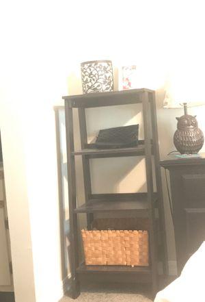 Tall black shelves for Sale in Orlando, FL