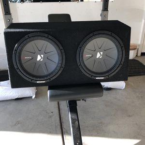 """Kicker CompR Sub 12"""" for Sale in San Ramon, CA"""