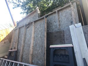 18x10 wood shed tiny house or bed room (need to rebuild) for Sale in Irwindale, CA