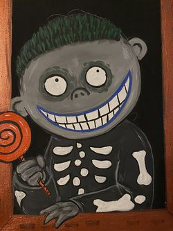The Nightmare Before Christmas - Barrel Painting for Sale in Temecula,  CA