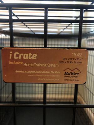 XL iCrate dog crate- 42x28x30- great condition for Sale in Littleton, CO