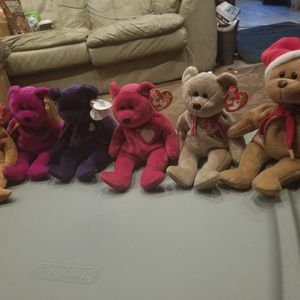 Retired Ty Beanie Babies for Sale in Plant City, FL