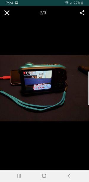 Fujifilm XP140 compact Ultra HD digital Camera 4K - sky blue for Sale in Honolulu, HI