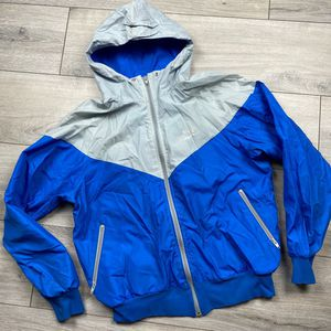 "Vintage Nike Windbreaker jacket* large* pit to pit 22.5""* perfectly distressed condition Amazing piece of Nike vintage* see photos 👍 Made in USA for Sale in Spokane, WA"
