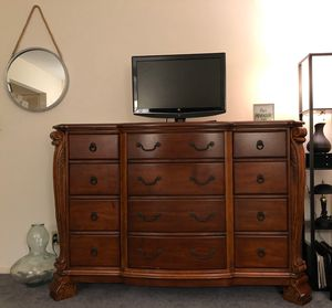 Solid wood Dressor ( bedroom furniture tv stand living room accent table storage shelf ) for Sale in Delray Beach, FL