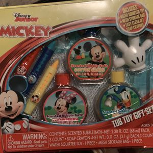 Mickey Tub Toy Gift Set for Sale in Humble, TX