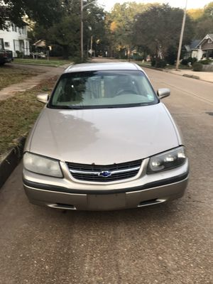 2003 gold Chevy impala for Sale in Alexandria, LA