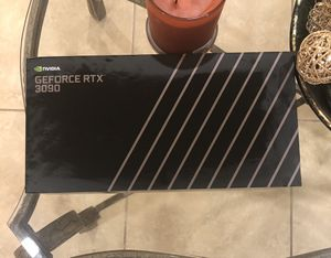 NVIDIA GeForce RTX 3090 24GB GDDR6X PCI Express 4.0 Graphics Card - Titanium and Black for Sale in Orange, CA