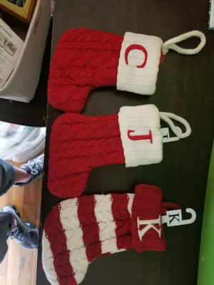 Small Monogram Stockings for Sale in Mineral Wells, WV