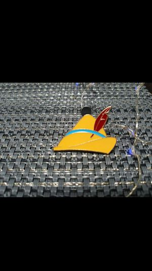 Disney trading pin Pinocchio hat for Disneyland landyard for Sale in Glendale, AZ