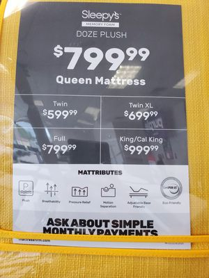 Brand new memory mattresses 50% OFF for Sale in Wenonah, NJ
