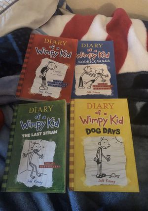 Diary of a Wimpy Kid set of 4 kids books for Sale in San Diego, CA