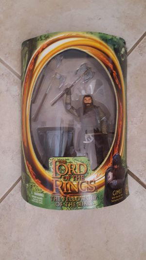 "LORD OF THE RINGS ACTION FIGURE ""GIMLI"" for Sale in Escondido, CA"