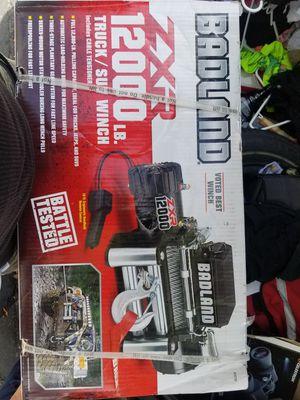 Badland 12000 lb zxr truck suv winch for Sale in Austin, TX