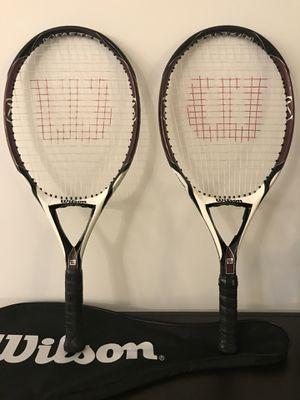 Wilson [K] Zero Strung Performance Value Tennis Racket for Sale in Virginia Beach, VA