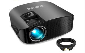 """Projector, GooDee 2020 Upgrade HD Video Projector Outdoor Movie Projector, 230"""" Home Theater Projector Support 1080P, Compatible for Sale in Rancho Cucamonga, CA"""