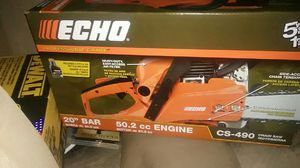 Echo Chainsaw 50 cc 20 in Bar for Sale in Austin, TX