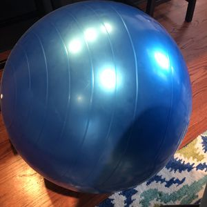 Exercise Ball with Pump for Sale in Chicago, IL