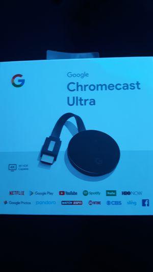 Google chromecast ultra for Sale in Tucson, AZ