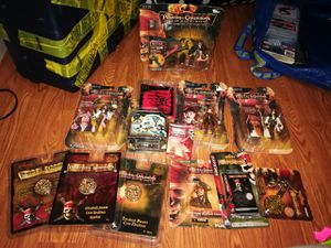 Pirates of the Caribbean Dead Man's chest collectible toys for Sale in Falls Church, VA
