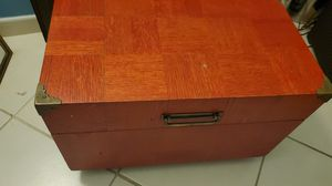Large wooden trinket for sale! for Sale in Pompano Beach, FL