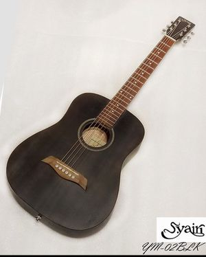 S.yairi YM-02 BLK mahogany Mini acoustic guitar Satin / Black for Sale in San Diego, CA