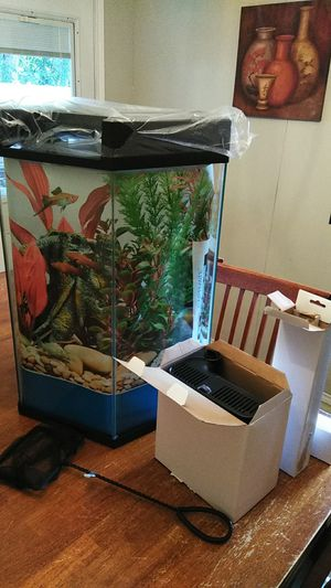 20gal aquarium for Sale in Arlington, TX