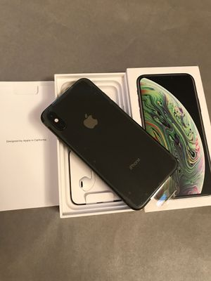 Brand new Apple iPhone XS unlocked space gray for Sale in San Jose, CA