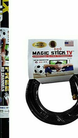 MAGIC STICK TV ANTHENA 😮😃😁🤩 CONNECTION TO FREE TV CHANNELS ✅✅ COMPATIBLE WITH ANY TV 😃😁🤩 WATCH YOUR FAVORITE CHANNELS FOR FREE 😁😁😁😃😃 for Sale in Bell,  CA