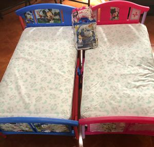 Mickey & Minnie Toddler Beds for Sale in Fresno, CA