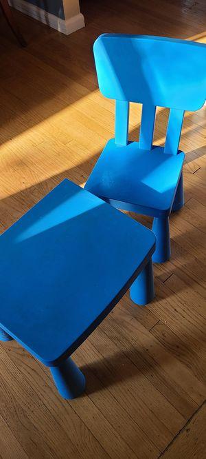 Ikea Kids Table & Chair for Sale in Dearborn, MI