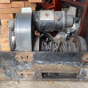 Old school Warn Winch for Sale in Spring Valley, CA