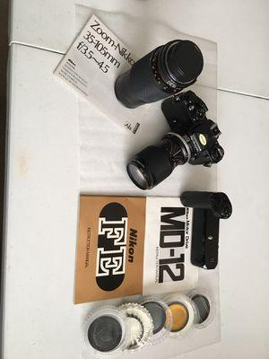 Nikon FE SLR Film Caméra for Sale in Escondido, CA