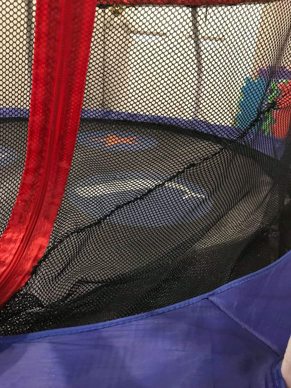 Small indoor/outdoor Trampolin