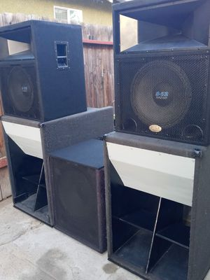 Dj speakers for Sale in Los Angeles, CA