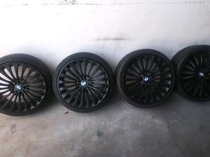BMW Wheels and Pirelli run flat tires for sale!!!! for Sale in Miami, FL