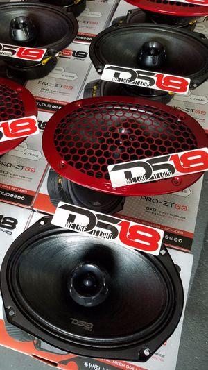Ds18 Pro Audio Loud and Clear 6x9 Speaker With a bullet twitter $65 Each(1)/Bosinas 6x9 Fuertes y claras para la.Voz $65 Cada una (1) Nuevas for Sale in Houston, TX