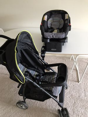 Stroller with infant car seat for Sale in Burlington, MA