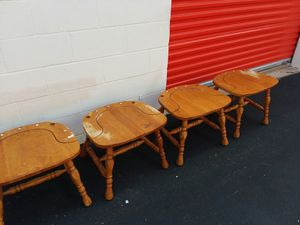 4 Wooden Stools for Sale in Houston, TX
