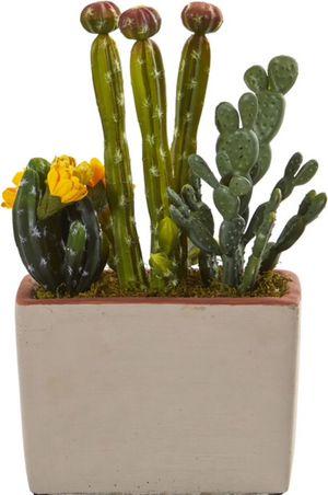New!! Fake succulents, fake cactus decoration, artificial plant for Sale in Phoenix, AZ